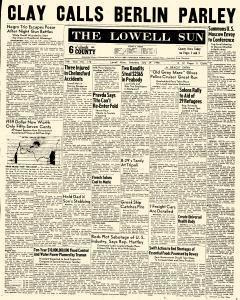 Lowell Sun, July 24, 1948, Page 1