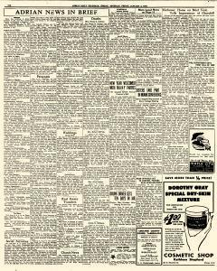 Adrian Daily Telegram, January 02, 1942, Page 6