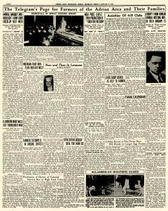 Adrian Daily Telegram, January 09, 1942, Page 8