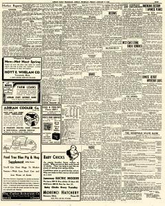 Adrian Daily Telegram, January 09, 1942, Page 9