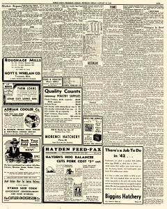 Adrian Daily Telegram, January 23, 1942, Page 9