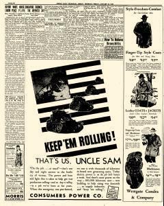 Adrian Daily Telegram, January 23, 1942, Page 12