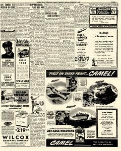 Adrian Daily Telegram, February 09, 1942, Page 3