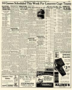 Adrian Daily Telegram, February 09, 1942, Page 5