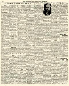 Adrian Daily Telegram, February 09, 1942, Page 6