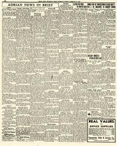 Adrian Daily Telegram, February 17, 1942, Page 6
