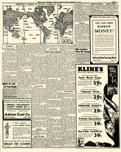 Adrian Daily Telegram, February 23, 1942, Page 3
