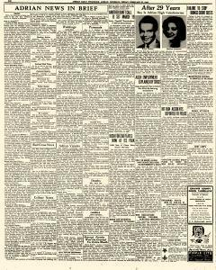 Adrian Daily Telegram, February 27, 1942, Page 6