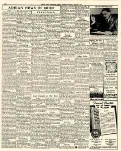 Adrian Daily Telegram, March 02, 1942, Page 6