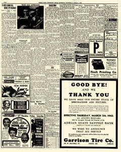 Adrian Daily Telegram, March 04, 1942, Page 2
