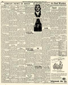 Adrian Daily Telegram, March 14, 1942, Page 6