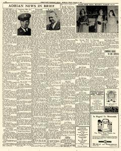 Adrian Daily Telegram, March 27, 1942, Page 6