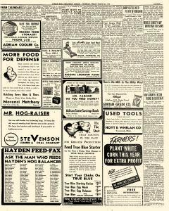 Adrian Daily Telegram, March 27, 1942, Page 11