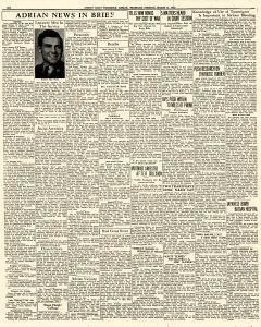 Adrian Daily Telegram, March 31, 1942, Page 6