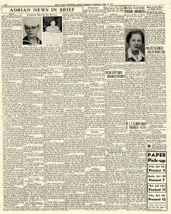 Adrian Daily Telegram, April 16, 1942, Page 6
