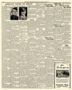 Adrian Daily Telegram, June 02, 1942, Page 6