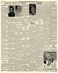 Adrian Daily Telegram, June 11, 1942, Page 6
