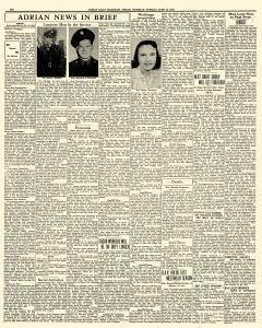 Adrian Daily Telegram, June 16, 1942, Page 6