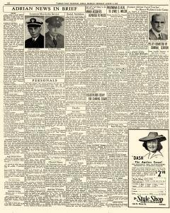 Adrian Daily Telegram, August 06, 1942, Page 6