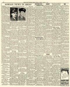 Adrian Daily Telegram, August 11, 1942, Page 6