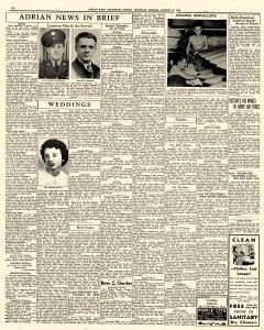 Adrian Daily Telegram, August 17, 1942, Page 6