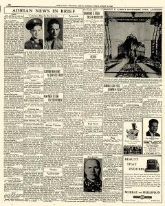 Adrian Daily Telegram, August 28, 1942, Page 6