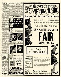 Adrian Daily Telegram, August 28, 1942, Page 14