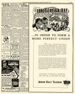 Adrian Daily Telegram, September 16, 1942, Page 5