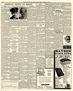 Adrian Daily Telegram, September 25, 1942, Page 6