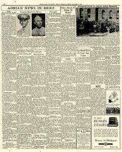 Adrian Daily Telegram, October 09, 1942, Page 6