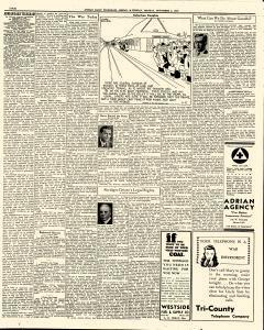 Adrian Daily Telegram, November 02, 1942, Page 4