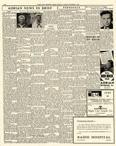 Adrian Daily Telegram, November 03, 1942, Page 6