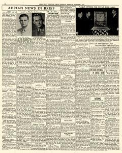 Adrian Daily Telegram, November 05, 1942, Page 6