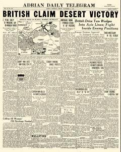 Adrian Daily Telegram, November 06, 1942, Page 1