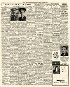 Adrian Daily Telegram, November 06, 1942, Page 6