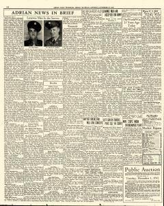 Adrian Daily Telegram, November 28, 1942, Page 6