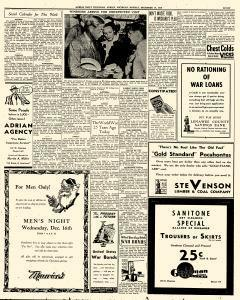 Adrian Daily Telegram, December 14, 1942, Page 7