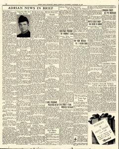 Adrian Daily Telegram, December 16, 1942, Page 6