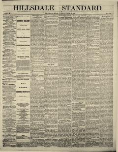 Hillsdale Standard, June 12, 1866, Page 2