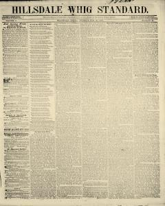 Hillsdale Whig Standard, February 23, 1847, Page 2