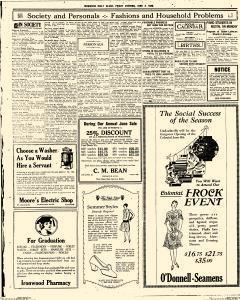 Daily Globe, June 04, 1926, Page 11