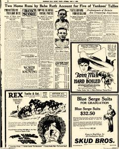 Daily Globe, June 04, 1926, Page 7