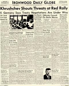 Daily Globe, August 11, 1961, Page 1