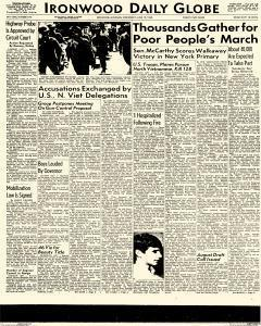 Daily Globe, June 19, 1968, Page 1