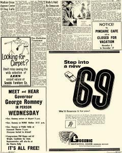 Daily Globe, October 29, 1968, Page 19