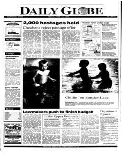 Daily Globe, June 16, 1995, Page 1