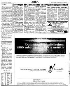 Daily Globe, February 15, 2001, Page 3