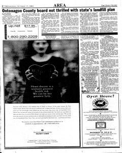 Daily Globe, October 17, 2001, Page 6