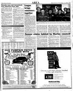 Daily Globe, October 17, 2001, Page 3