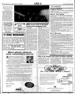 Daily Globe, December 19, 2001, Page 8